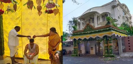 Karnataka cm kumarasamy son marriage