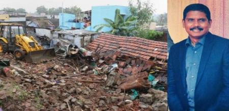 kovai wall accident new case filed to house owner