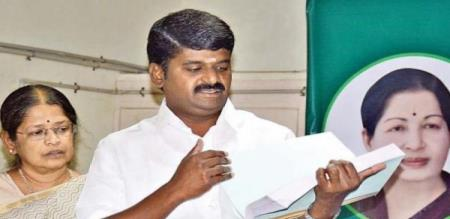 Tamilnadu Minister Vijay Baskar Press meet