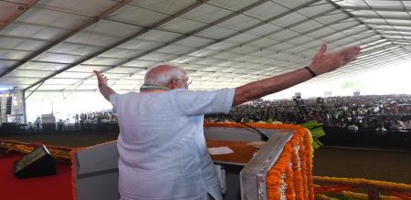 PM Modi Inaugurate veterinary schemes in UP Madura