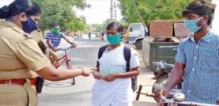 theni police help to brothers and sister to go native