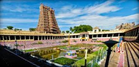 in madurai meenatchi temple ozone layer