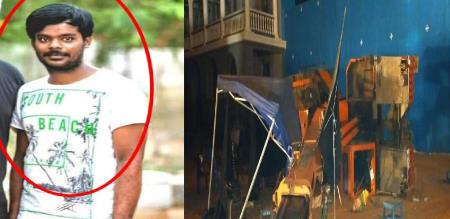 indian 2 movie accident assistant director madhu photo