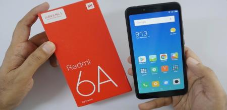 REDMI6A Smartphone Open Sales Today