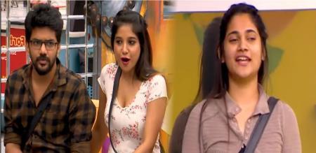 sakshi says kavin and losliya love