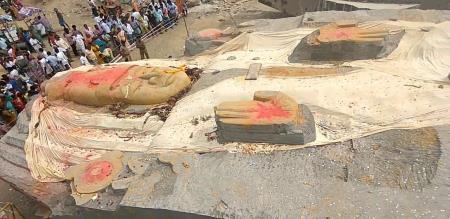 350 Ton Statue Karnadaka Going Case File High Court  Ask Question