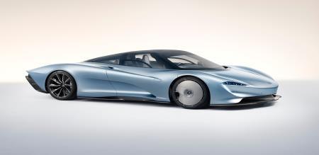 McLaren Speed Dial 2020