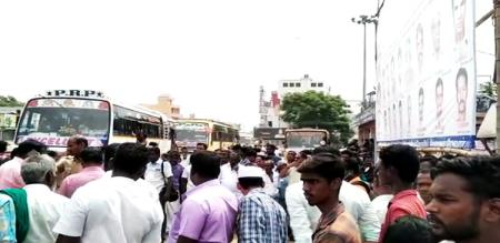 in Madurai man killed her wife father due to family problem