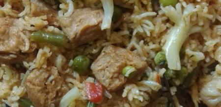 Meal maker biryani recipe in tamil