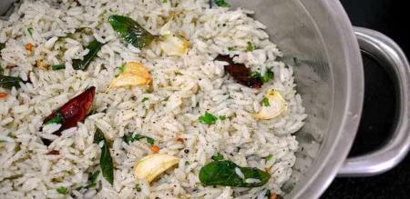 Garlic pepper rice