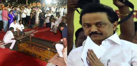 secret behind karunanithi death