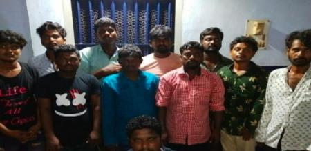 11 Cellphone robbers arrested in Chennai they are from Andhra