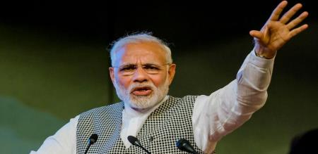 Indian prime minister speech about jammu ladak problem