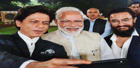 modi meets cinema stars