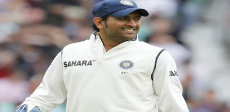 MS Dhoni attend Ranchi Test as Special Guest