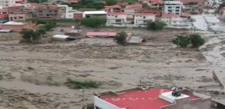 in America Bolivia mud flood peoples struggled