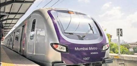 in mumbai metro train service started by modi