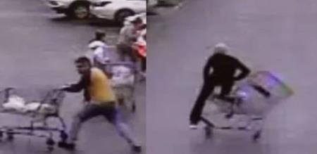 man helps to police to catch thief