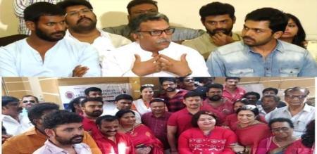 Chennai High Court verdict about nadigar sanga election