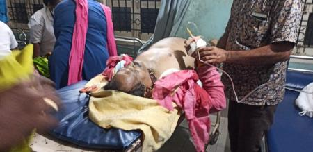 Central Minister shribad naik health condition