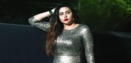 namitha modern dress new photo shoot