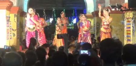 Nattiyanjali in Mayuranathar Temple Festival