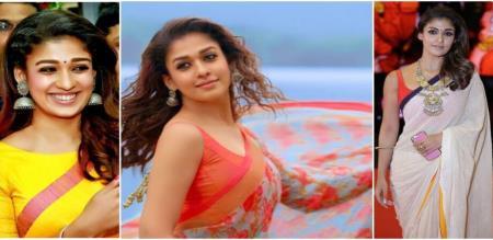 nayanthara latest photos in shooting spot