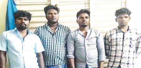 in cudallore girl sexual harassment by gang police arrest culprit