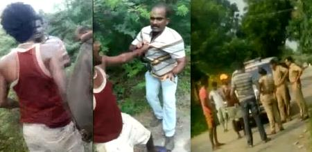 in cudallore neyveli rowdy attack and injured police video trending