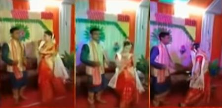 in assam girl suicide within finished marriage 2 months while dance in function