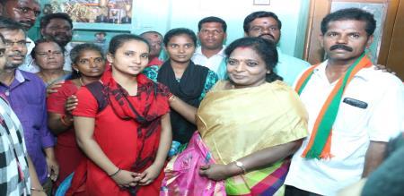 tamilisai meet jeevitha