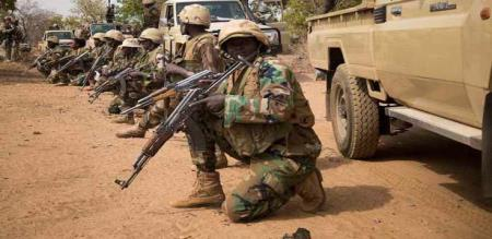 in Africa Niger army attack 72 army officers died