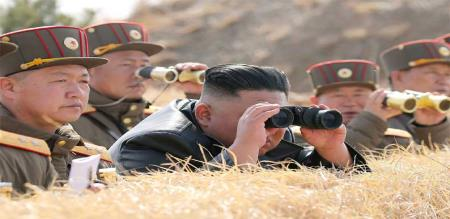 North Korea missile launch test south Korea feeling fear
