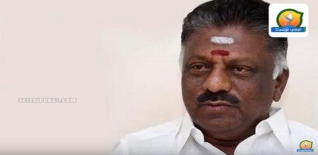 ops son name noted by MP in temple festival notice