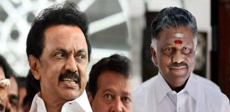 Central Govt withdraw CRPF force to OPS and MK Stalin