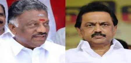 DMK counselor joined admk in front of OPS