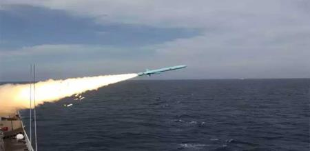 Pakistan Coastal force test missile