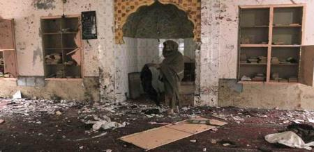 in Pakistan Masque bomb attack peoples died