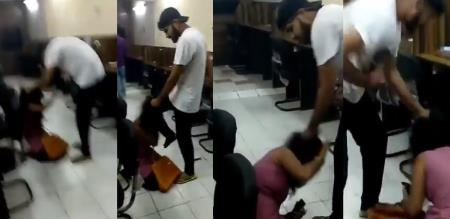a girl attack by stranger video viral on social media