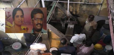 in perambalur wife and baby try to murder by husband due to illegal affair