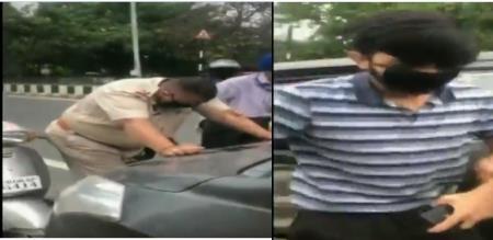 Punjab police arrest man create violent corona virus amid