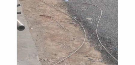 in coimbatore electrical line cutted due to nature wind