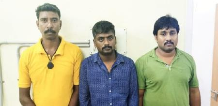 Pondicherry gang forced prostitution Chennai cine actress police arrest gang