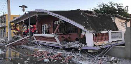 in porto rigo earthquake peoples panic