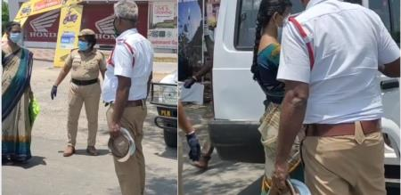 perampalur district police help pregnant girl to go home