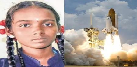 in puthukottai girl select to visit nasa