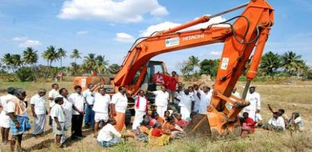 farmer protest against gail