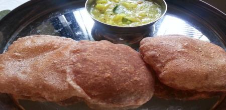ragi poori preparation in tamil