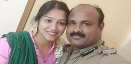 Sundara Travel Movie Actress Radha Complaint Against his Police Husband about Doubt Torture