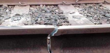 in nagapattinam train track damaged lucky peoples life saved